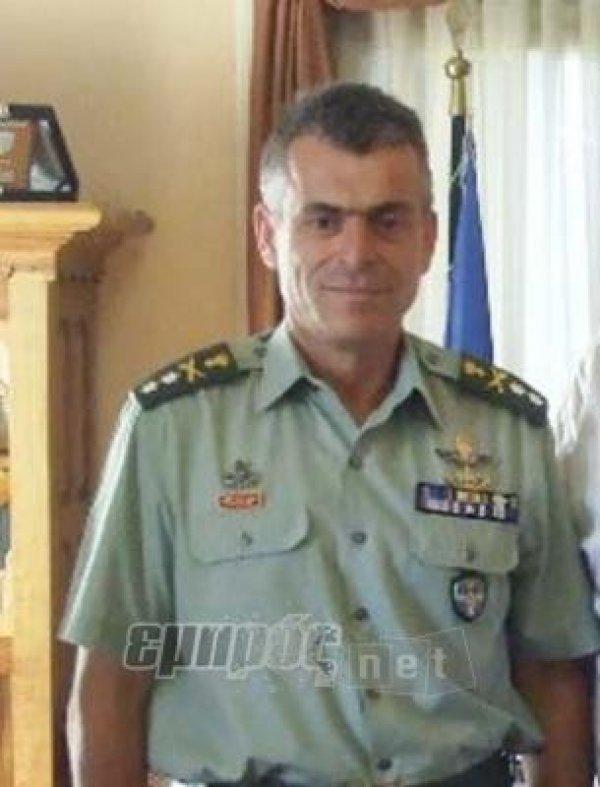 Διοικητής Στρατιάς ο Γιάννης Ηλιόπουλος