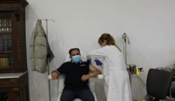 Εμβολιάστηκε κατά του κορονοϊού ο Δήμαρχος Μυτιλήνης