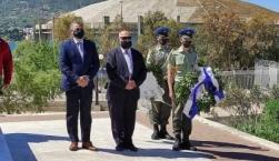 Ο Δήμος Μυτιλήνης τίμησε την Ημέρα Λήξης του Β' Παγκοσμίου Πολέμου