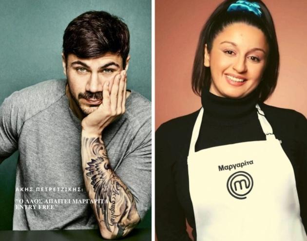 Επέστρεψε δυναμικά στον πάγκο του Master Chef 5 η Μαργαρίτα Νικολαΐδη [Vid]