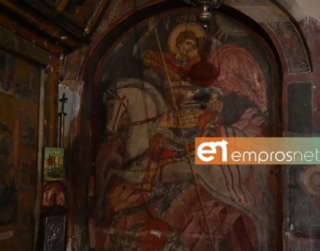 Ο Ιερός Ναός Αγίου Γεωργίου Ανεμώτιας [Vid]