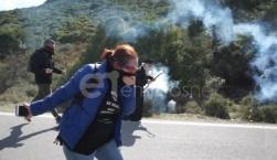 Μηχανοκίνητη πορεία διαμαρτυρίας με φόντο το μεταναστευτικό