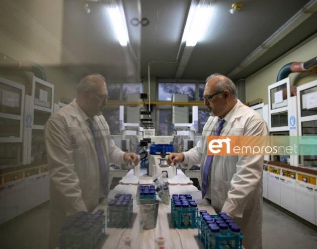 Συνεργασία Θωμαΐδη - ΔΕΥΑΛ για την πανδημία [Vid]
