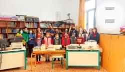 Εκπαιδευτικό υλικό 2.200 ευρώ στο Δημοτικό Μανταμάδου από το Μέλαθρον Οικουμενικού Ελληνισμού