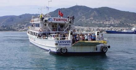 Ανεκτέλεστα  επ αόριστον τα δρομολόγια πλοίων προς Τουρκiα