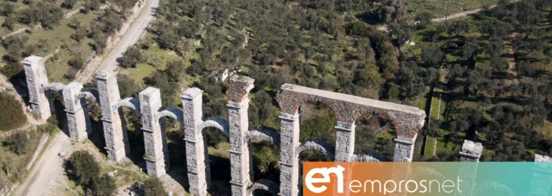 Το Ρωμαϊκό Υδραγωγείο της Μόριας κινδυνεύει με κατάρρευση! [Vid]