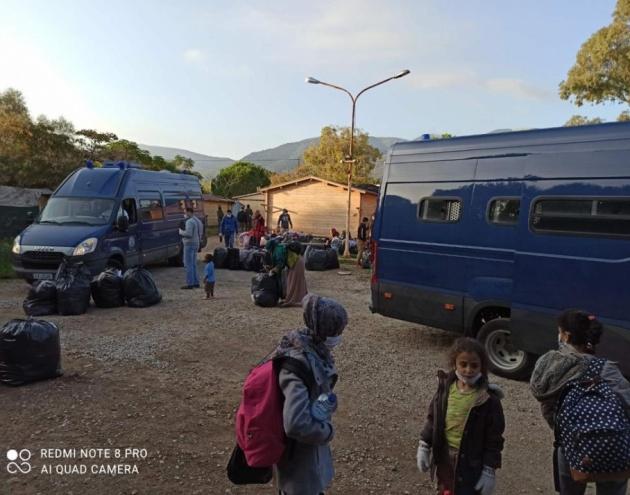 Ήρεμα και ειρηνικά θέλησε να γίνει το Υπουργείο η επιχείρηση εκκένωσης [Vid]