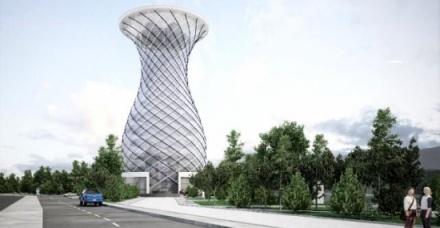 Σύμβολο της Κιουτάχειας ο πύργος του βάζου Vazo Kule